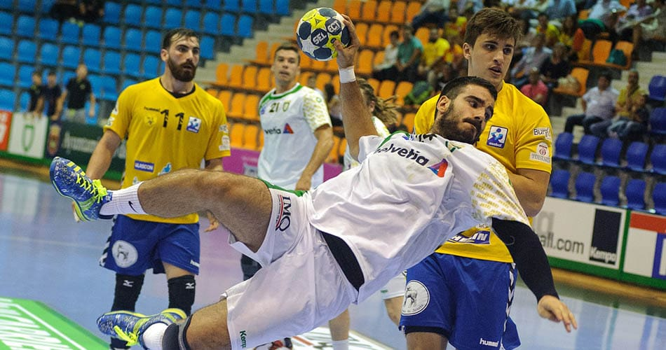Handball championship game